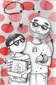 Mel et Jean, libraires par passion