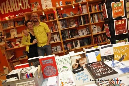 Mel et Jean - Librairie indépendante La Soupe de l'Espace