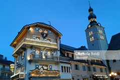 Féerie des stations. Megève. La Grande Odyssée Savoie Mont-Blanc ©Nathalie Baldji