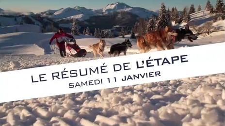 Grande Odyssée Savoie Mont Blanc - 16e édition - Résumé d'étape : prologue de présentation des attelages 11 janvier 2020
