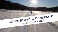 Grande Odyssée Savoie Mont Blanc - 16e édition - Résumé d'étape 13 janvier 2020