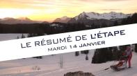 Grande Odyssée Savoie Mont Blanc - 16e édition - Résumé d'étape 14 janvier 2020