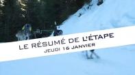 Grande Odyssée Savoie Mont Blanc - 16e édition - Résumé d'étape 16 janvier 2020