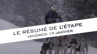 Grande Odyssée Savoie Mont Blanc - 16e édition - Résumé d'étape 17 janvier 2020