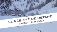 Grande Odyssée Savoie Mont Blanc - 16e édition - Résumé d'étape 18 janvier 2020