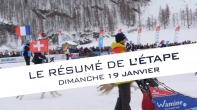 Grande Odyssée Savoie Mont Blanc - 16e édition - Résumé d'étape 19 janvier 2020