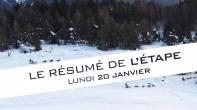 Grande Odyssée Savoie Mont Blanc - 16e édition - Résumé d'étape 20 janvier 2020