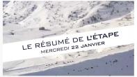 Grande Odyssée Savoie Mont Blanc - 16e édition - Résumé d'étape 22 janvier 2020