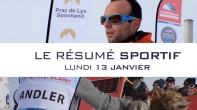 Grande Odyssée Savoie Mont Blanc - 16e édition - Résumé sportif 13 janvier 2020