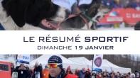 Grande Odyssée Savoie Mont Blanc - 16e édition - Résumé sportif 19 janvier 2020